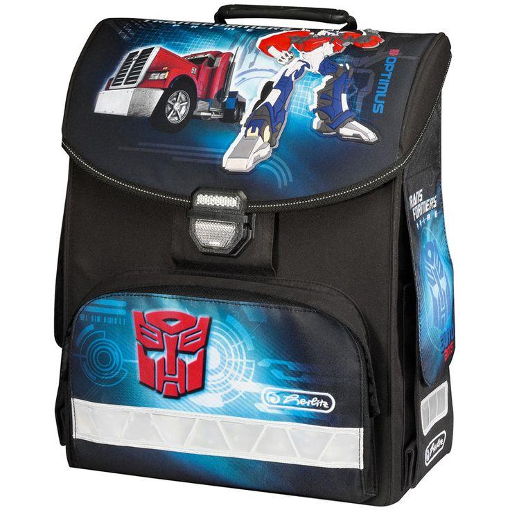 Herlitz Tornister szkolny SMART Transformers