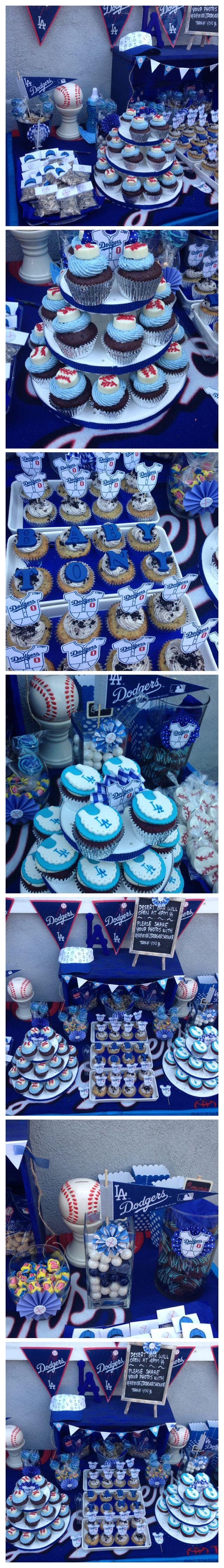 Dodgers baby shower!