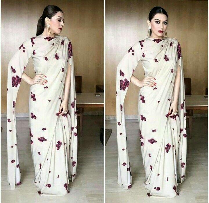 Hansika Motwani wearing Neeta Lulla