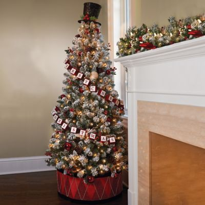 Pre Decorated Tabletop Christmas Trees