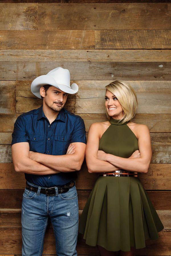 "Carrie Underwood and Brad Paisley: ""If you're an actor, you want to win an Oscar, and if you're a country music artist, you want to win a CMA Award."" -Brad Paisley"