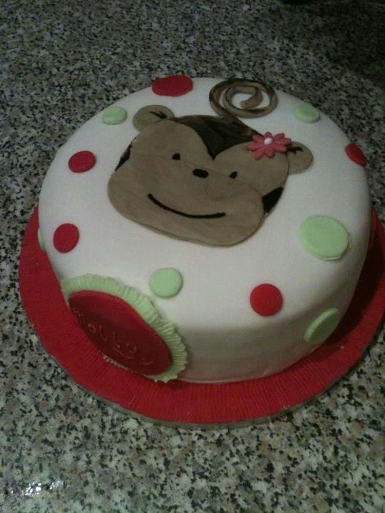 Girls Monkey cake