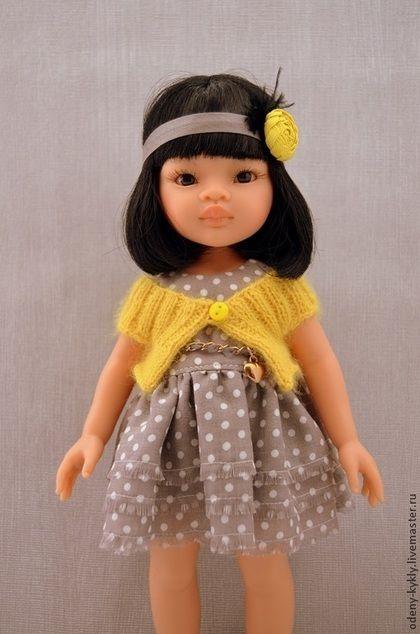 Одежда для кукол ручной работы. Ярмарка Мастеров - ручная работа. Купить Платья для куклы Paola Reina/Паола Рейна. Handmade.