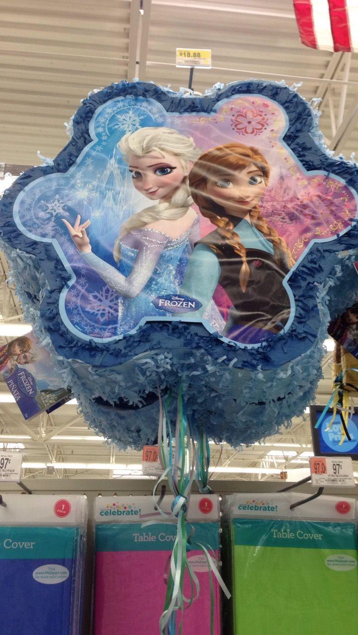 Frozen pinata at Walmart