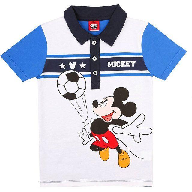 Disney Jungen Mickey Mouse T-Shirt blau