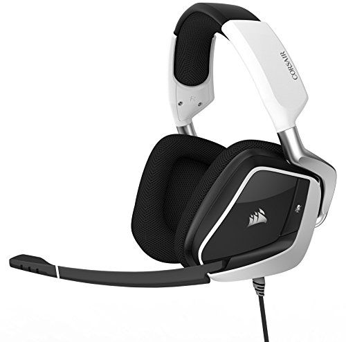 FarCry 5 Gamer  #CORSAIR #VOID #PRO #RGB #USB #Gaming #Headset - #Dolby 7.1 #Surround #Sound #Headphones for #PC - #Discord #Certified - #50mm #Drivers - #White   Price:     The #VOID #PRO #RGB #USB #headset provides exceptional comfort, epic audio performance and legendary #CORSAIR durability to deliver the ultimate #gaming experience. Microfiber mesh fabric and memory foam ear cups let you play for hours while providing airflow and comfort. Enjoy the precision of custom tun