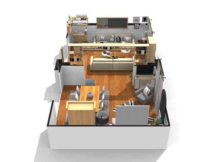 Les 25 meilleures id es de la cat gorie logiciel plan 3d - Logiciel gratuit decoration interieur ...
