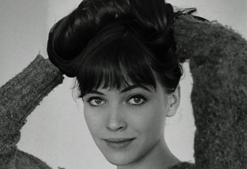 "cosmokramers: """"Anna Karina in Le Petit Soldat (1963) dir. Jean-Luc Godard"" """