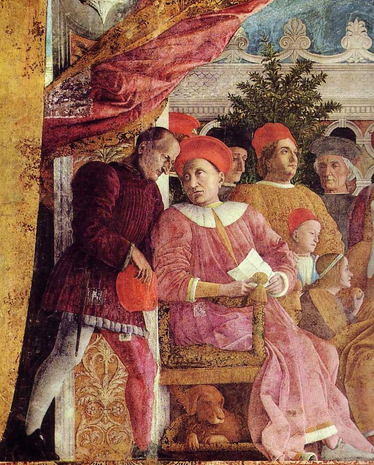The Athenaeum - The Court of Mantua (detail) (Andrea Mantegna - )