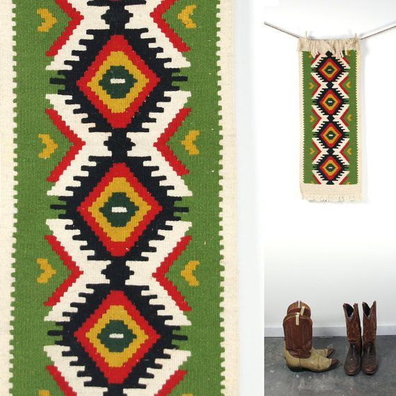 american native native more rug area runners runner wall table vintage american tapestry  / table /