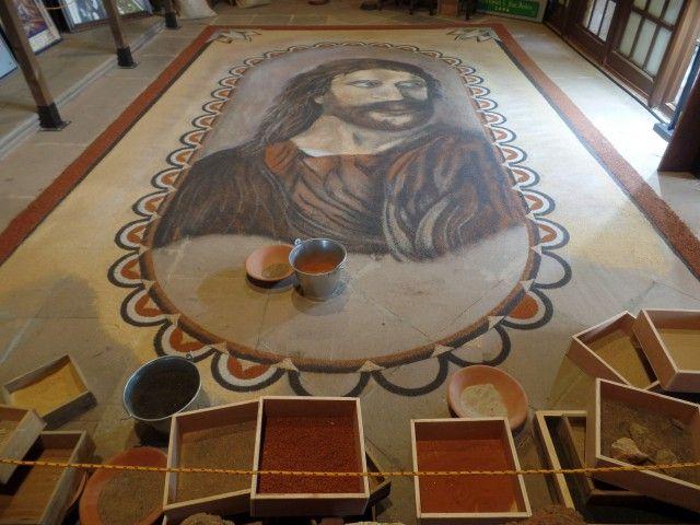 La Orotava - Floor art