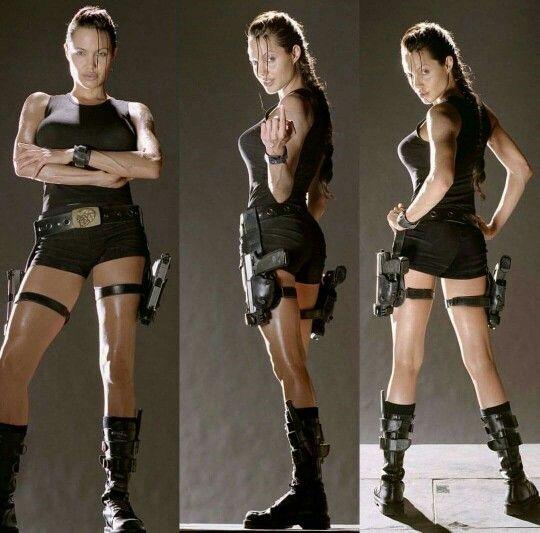 Angelina Jolie as Laura Croft