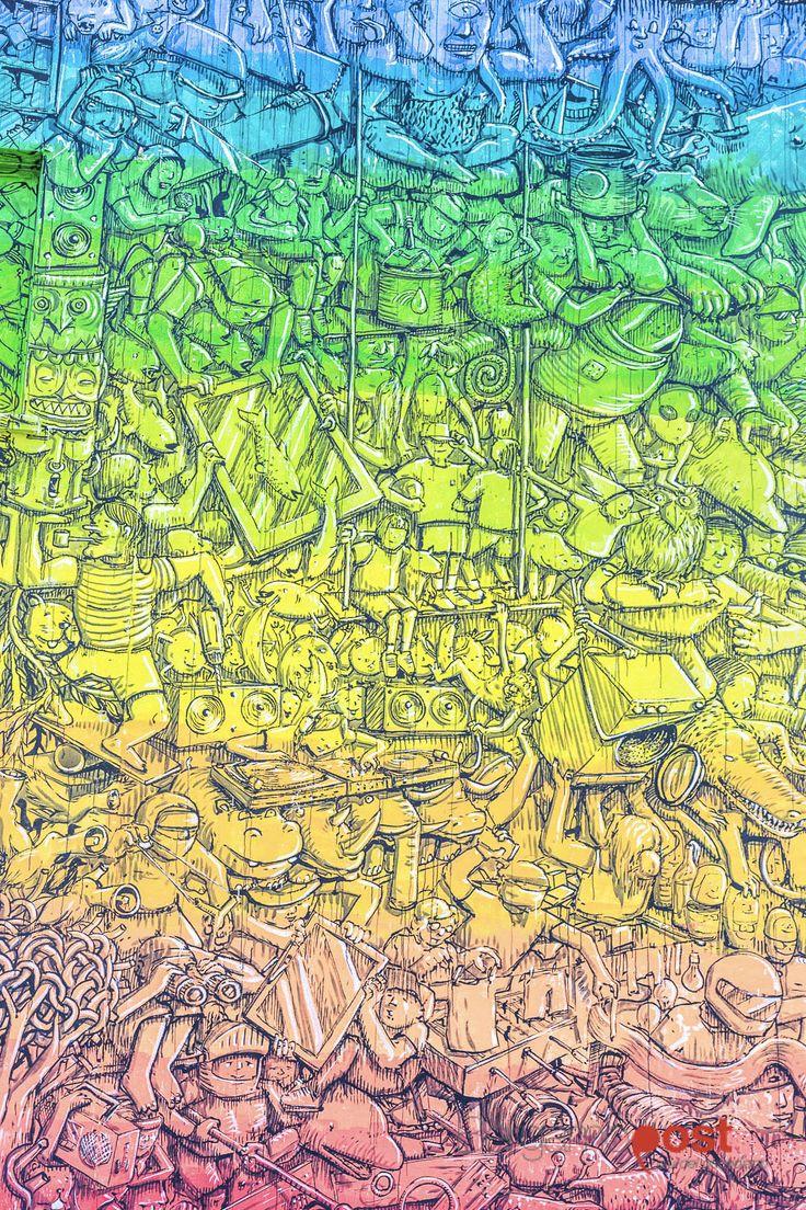 Les Peintures murales de Blu en Italie évoquent les Problèmes environnementaux (5)