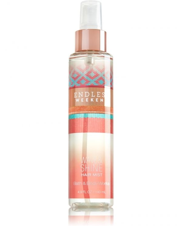 Bath and Body Works Endless Weekend Wave and Shine Hair Mist