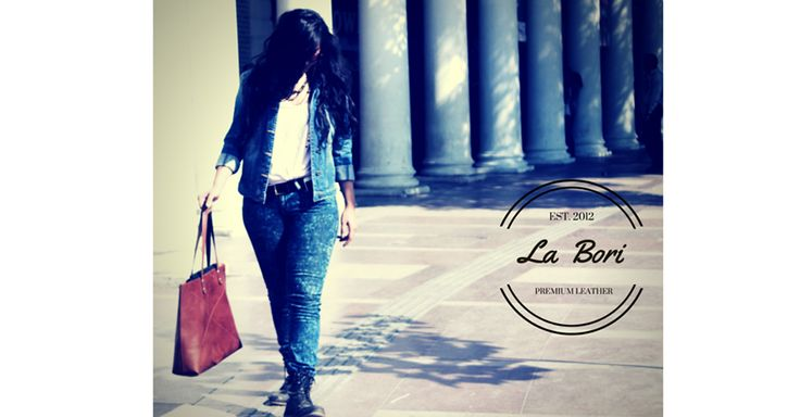 """I choose a leather bag over a leather skirt, after all, the bag is what I will be carrying it in."""" ~~ In words of our 'Leather Lover' Designer Chavi Mittal.  Introducing """"La Bori"""" collection from The Cobbleroad. A solidly built tote bag is an everyday staple. Day, night, travel, errands - the """"La Bori"""" Tote bag embodies utility. Buy It-http://goo.gl/1SbbUw"""