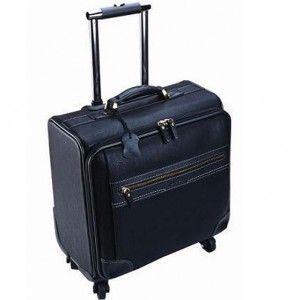 Adep The Spinner 4 Wheel Trolley Computer Case Black
