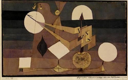 128 best images about paul klee on pinterest mountain formation oil on canvas and. Black Bedroom Furniture Sets. Home Design Ideas