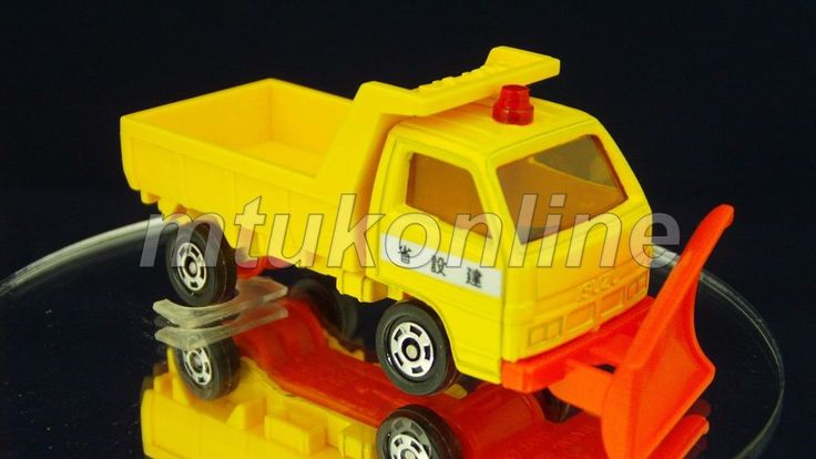 TOMICA 048E ISUZU ELF SNOWPLOW | 1/78 | JAPAN | 048E-03 | Late Box