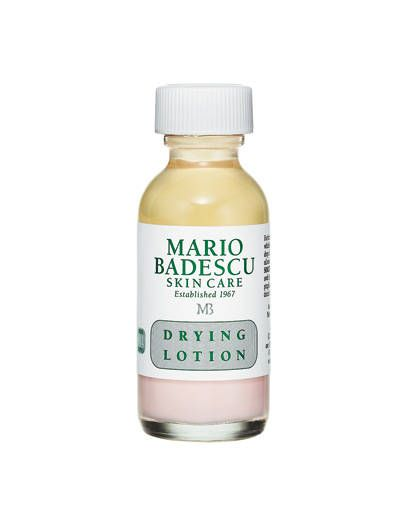 "You ""can't live without"" 	 	Mario Badescu Drying Lotion, hailed as ""the best acne product"" you've ever used.    - ELLE.com"