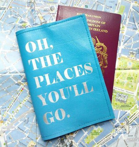 Mia Dr Seuss Passport Cover Passport Holder Passport by bambina 22.00