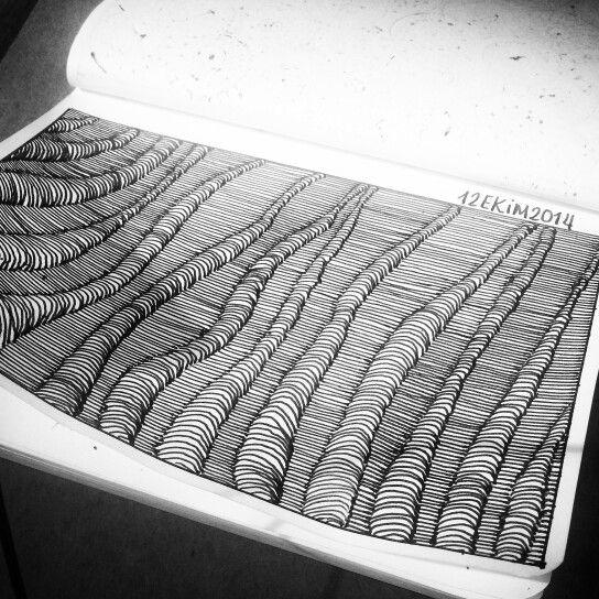Ozlemarsoner / Evlat zengtangle, zengtangles, doodle, doodles, sketchbook, moleskine