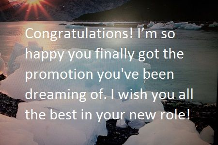 Congratulations Messages for Job Promotion - What to Write in a Card