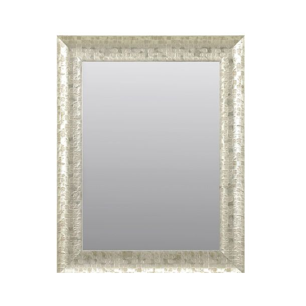 Espejo decorativo b136 plata espejos decorativos color for Espejos color plata