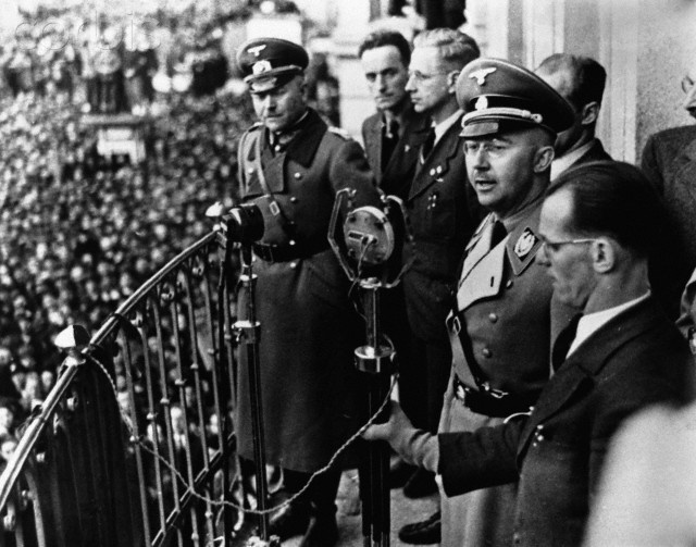 the life and leadership of heinrich himmler The remainder of the book deals almost entirely with himmler's professional life, which is a string of attrocities, murders and infighting relatively little is said about himmler the man or his personal life after 1930, perhaps because he did not have any.