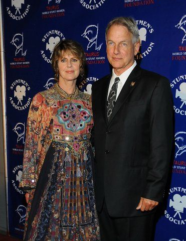 pam dawber and mark harmon seldom appear in public together