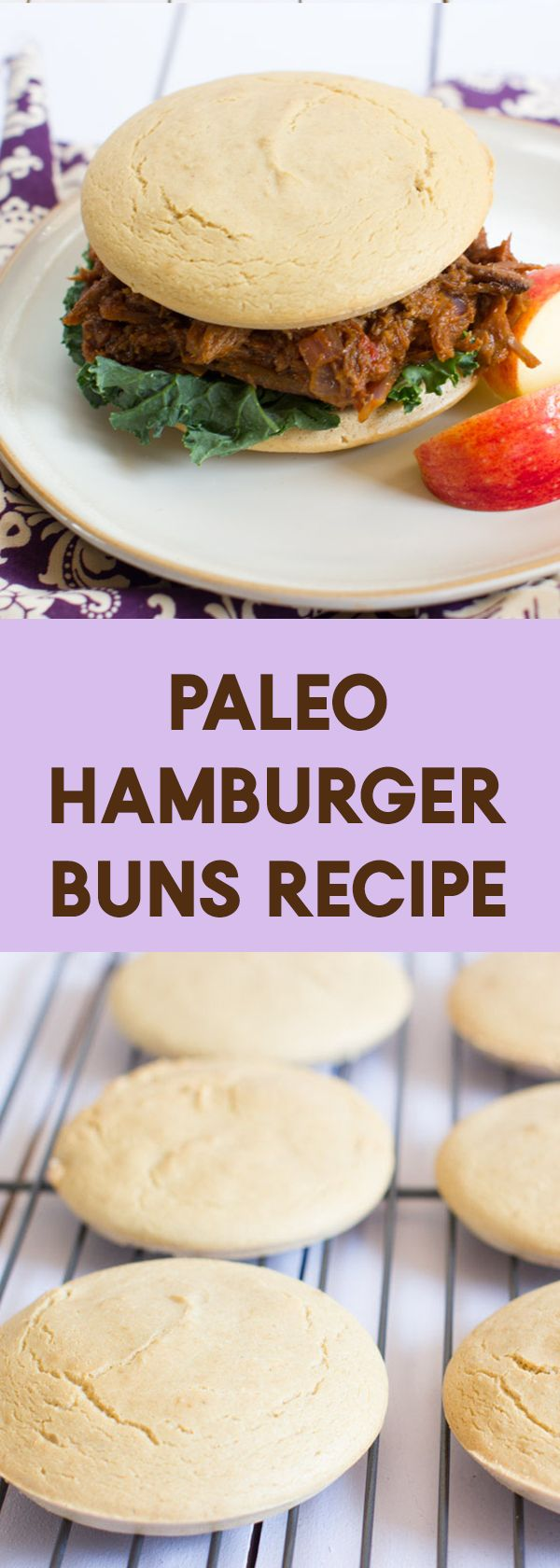 A Paleo Hamburger Buns recipe that will handle the biggest burger you can top it with. Sturdy, but soft and delicious. via @bejelly