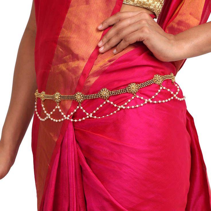 Antique Belt 57909 #Kushals #Jewellery #FashionJewellery #IndianJewellery #WeddingAccessories #Belt #Antique