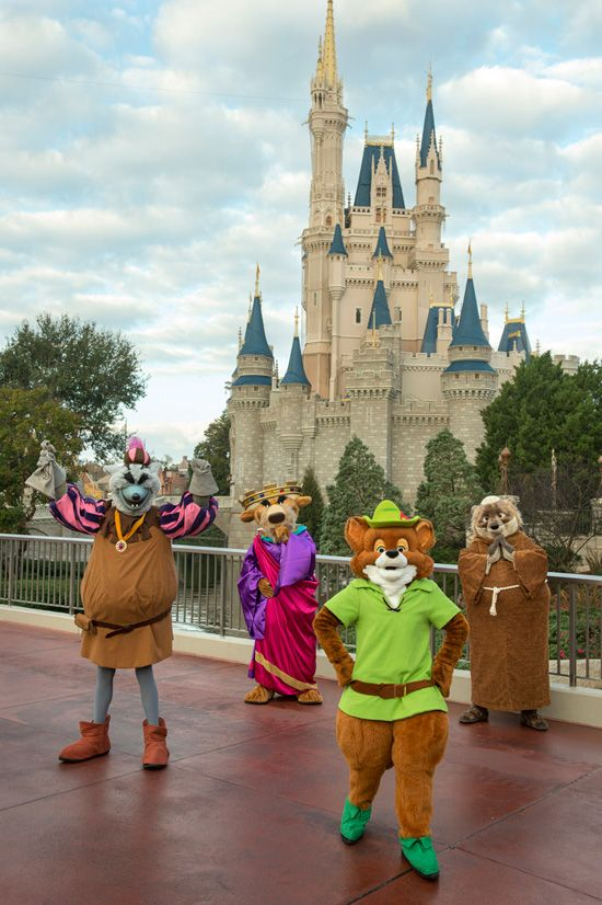Long-lost Disney friends are returning to the Magic Kingdom Park just to meet you and your family. For one week, January 21–27 (2013), be sure to have your camera ready for a rare chance to possibly brush shoulders with classic characters like Robin Hood and Friar Tuck.