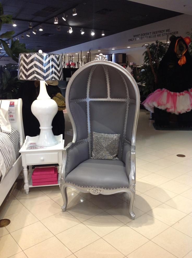 Grey and silver canopy chair. #houston & 89 best For the love of canopy chairs images on Pinterest | Chairs ...