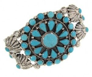 Turquoise Jewelry | Southwest Jewelry | Turquoise Cuff Bracelet