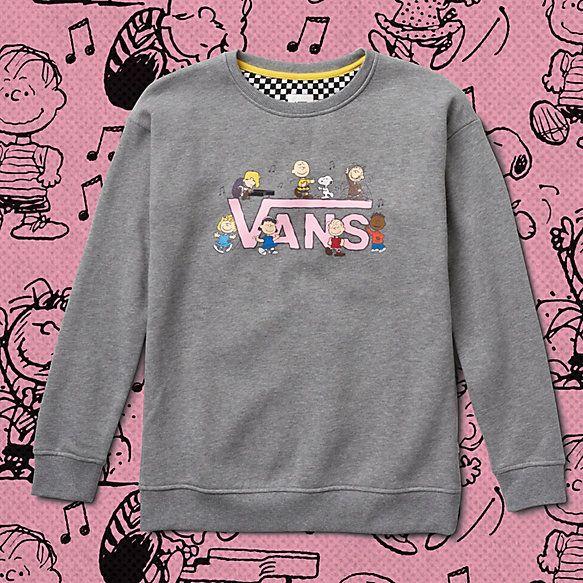 Vans x Peanuts Dance Party Crew Sweatshirt