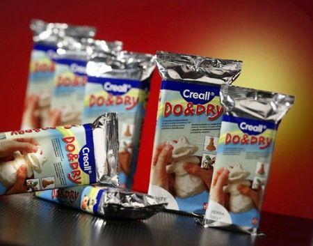 Do&Dry modell agyag, levegőn száradó 1000 gr, Creall