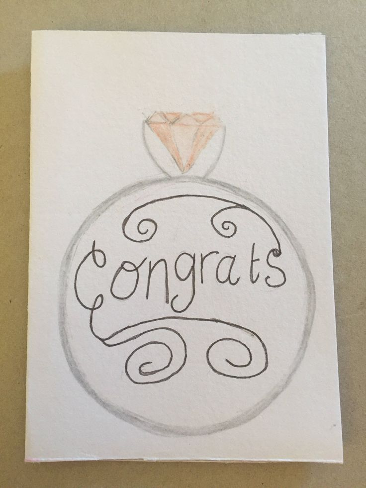 A personal favourite from my Etsy shop https://www.etsy.com/au/listing/511316162/congrats-greeting-card