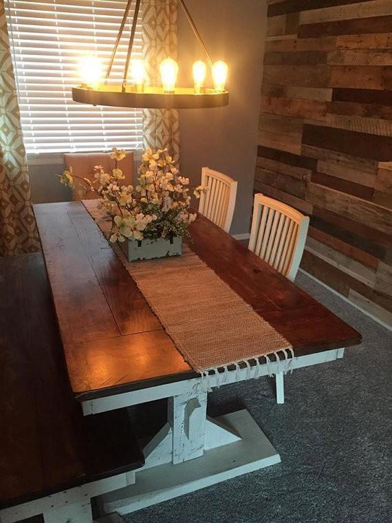 Trestle Farmhouse Dining Table