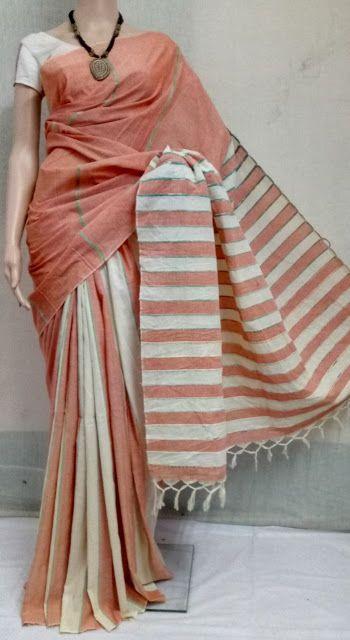 Summer Special Handloom Cotton sarees 16