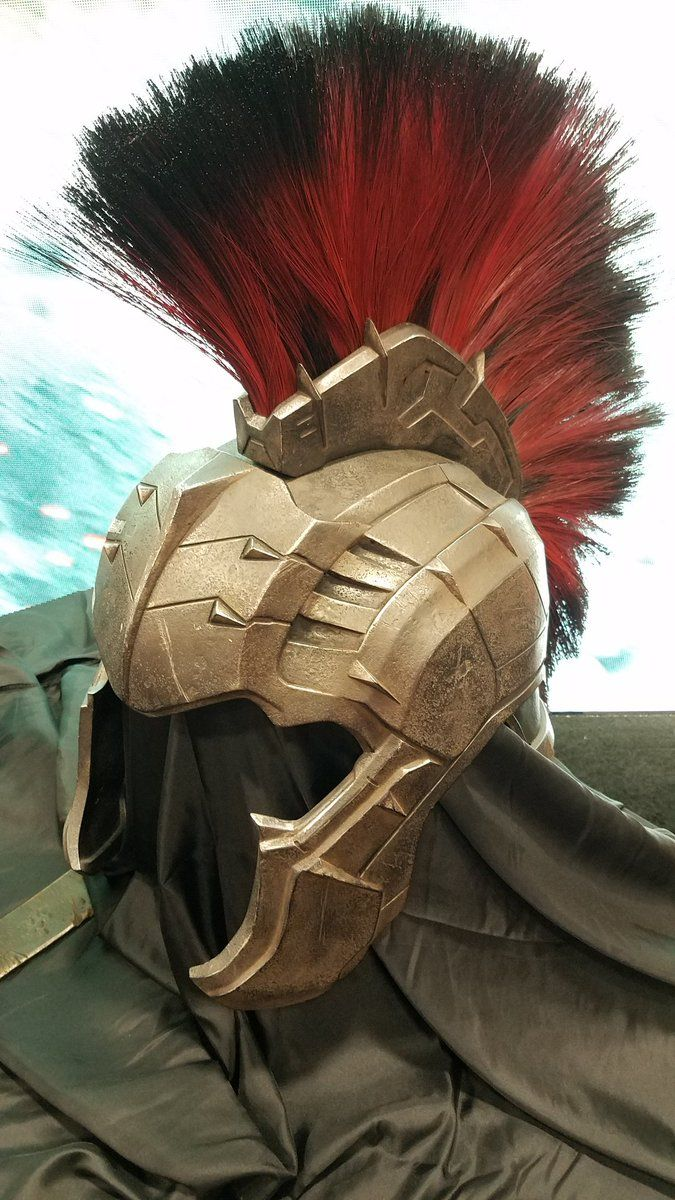 Gladiator Hulk armor in Thor: Ragnarok