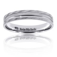 Reis-Nichols Jewelers : Men's Wedding Band in Palladium