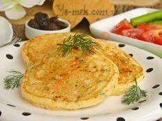 Kahvaltılık Peynirli Pofuduk Pankek Resimli Tarifi - Yemek Tarifleri