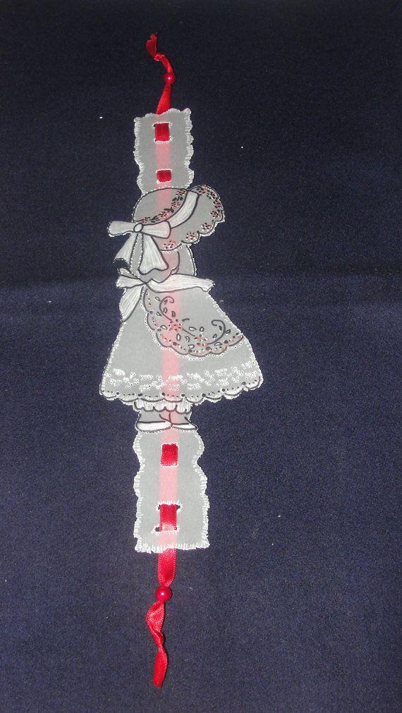 Handmade Bookmarks. Made using tracing paper. Handpainted.
