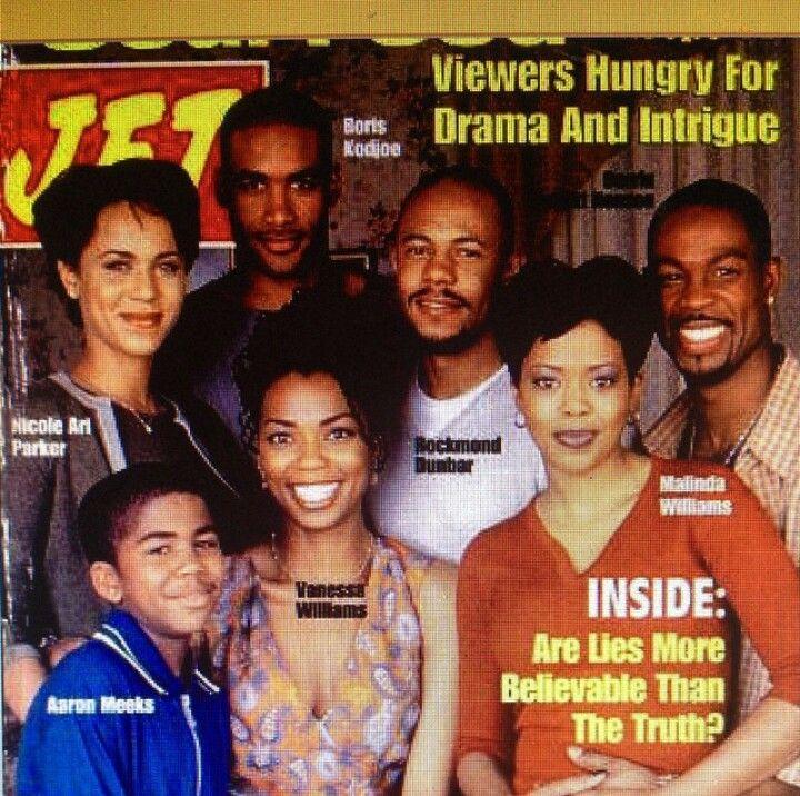 Nicole Ari Parker, Aaron Meeks, Vanessa Williams, Malinda Williams, Rockmond Dunbar, Darrin Henson, & Boris Kodjoe stars of Showtime's Soul Food