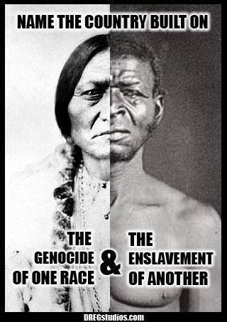 Genocide & enslavement. http://25.media.tumblr.com/tumblr_m5sgcc16BK1qhjt82o1_400.jpg    **& i have BOTH of these ethnicities in me!  /  **REMEMBER!>>> http://rt.com/politics/norway-extremism-russia-multiculturalism/