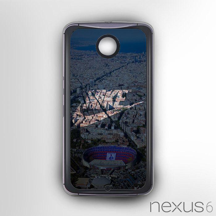 Nike Barcelona Football for Nexus 6 phonecases