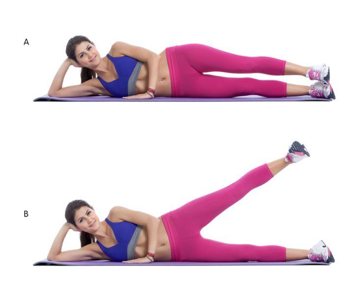 Как делать зарядку чтобы похудеть ноги
