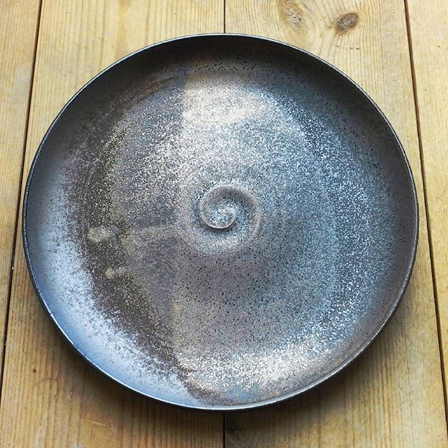 New plates wheelthrown in porcelain clay. #finedining