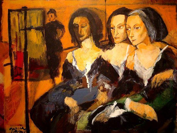 PINTORES LATINOAMERICANOS-JUAN CARLOS BOVERI: Pintores Salvadoreños: ANTONIO GARCÍA PONCE