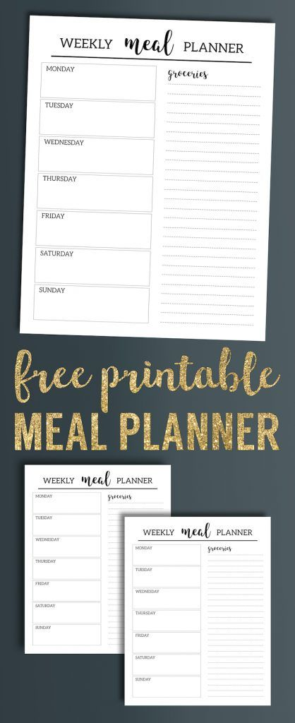 The 25+ best Weekly dinner planner ideas on Pinterest Meal - free dinner menu templates